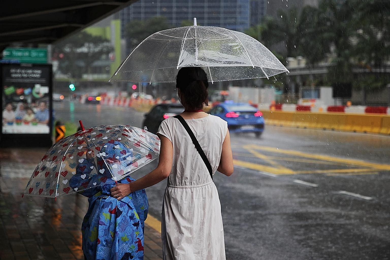 Less rain is expected in Singapore for the rest of the month, but the weatherman has declared the onset of La Nina-like conditions in the region this month, after being on watch since July for the climate phenomenon that brings more rain to South-Eas