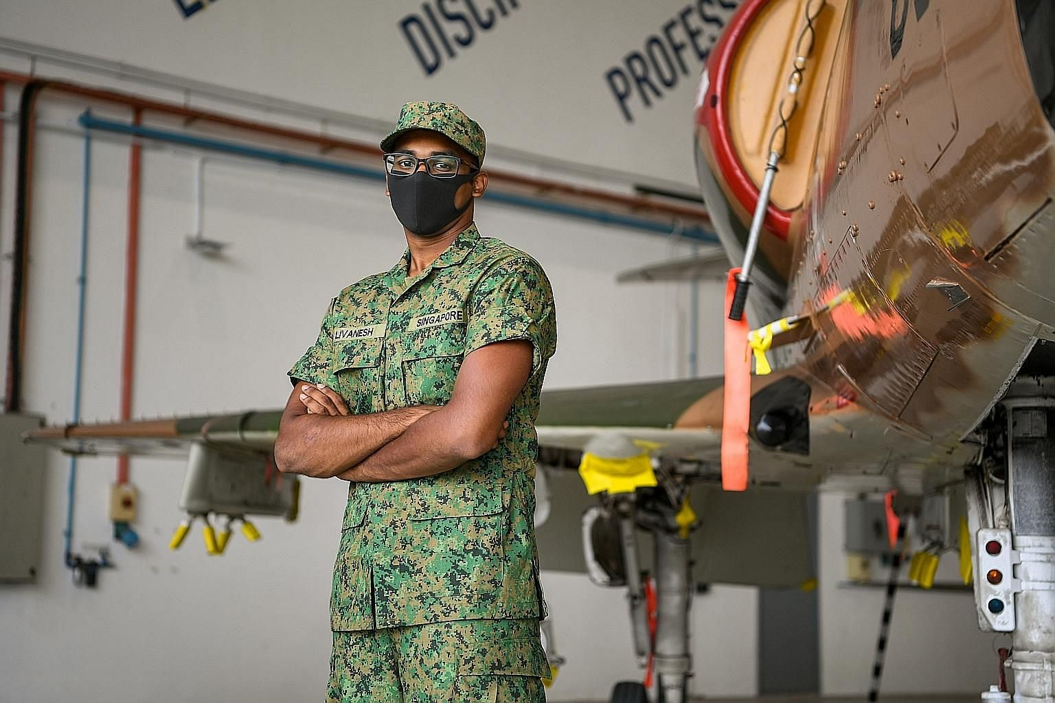 Private Livanesh Ramu will be among about 20 trainees in the pioneer cohort of the new work-study programme, which begins in April next year. The scheme, by the Institute of Technical Education and the Republic of Singapore Air Force, will equip trai