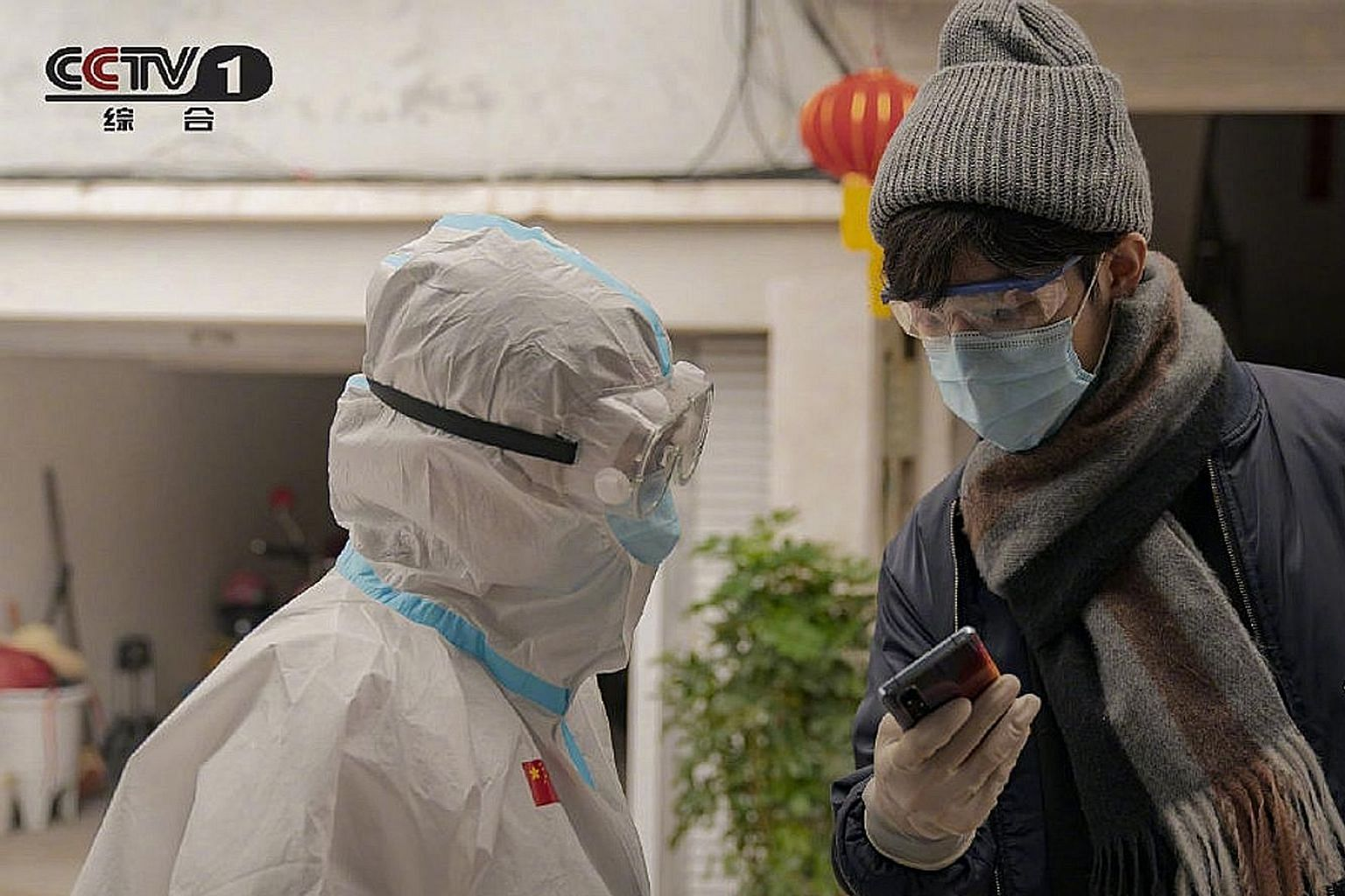 Netizens have slammed the drama, Heroes In Harm's Way (above), for downplaying the role of women in battling the coronavirus outbreak in Wuhan in Hubei province.