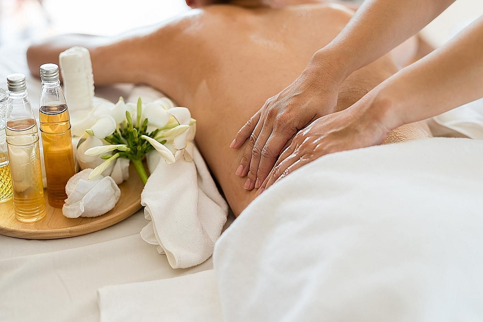 Wellness and beauty services, such as massages, were suspended during the circuit breaker, but have since resumed. A check with several establishments shows demand for such treatments is slowly but steadily picking up, though not back to pre-Covid-19