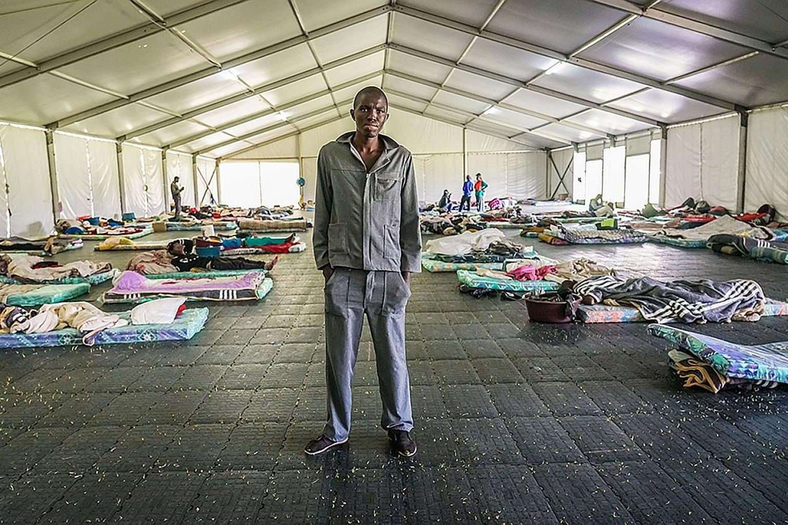 Mr Neo Letlape, who began experimenting with drugs at 17 and has been living on the streets for over five years, was put in a temporary shelter at the Lyttelton sports club when South Africa went into lockdown in March.