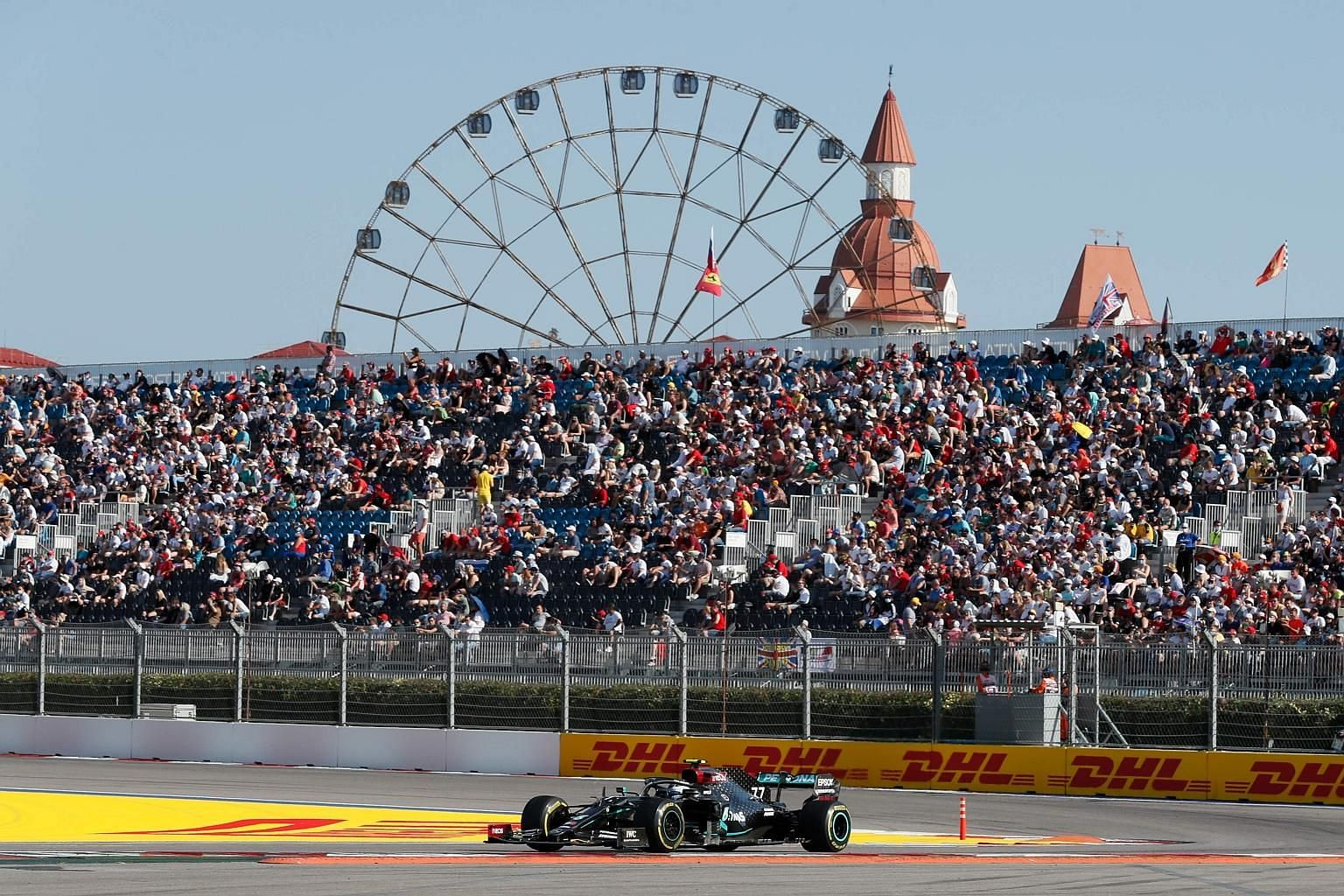 Mercedes driver Valtteri Bottas steering his car to victory in Sunday's Russian Grand Prix in Sochi. Despite the Finn starting third, it was a race where everything went right for him and one where little did for his teammate - pole sitter Lewis Hami
