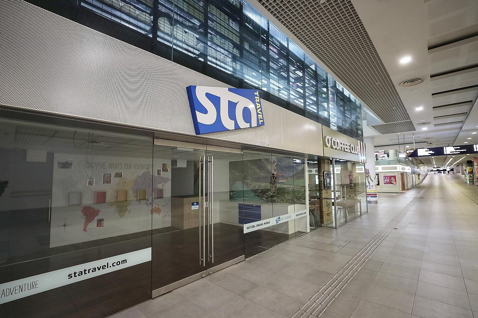 STA Travel stopped operating on Sept 9 after its parent company based in Switzerland filed for insolvency last month. The potential creditors were listed in a notice issued last Thursday. ST PHOTO: KELVIN CHNG