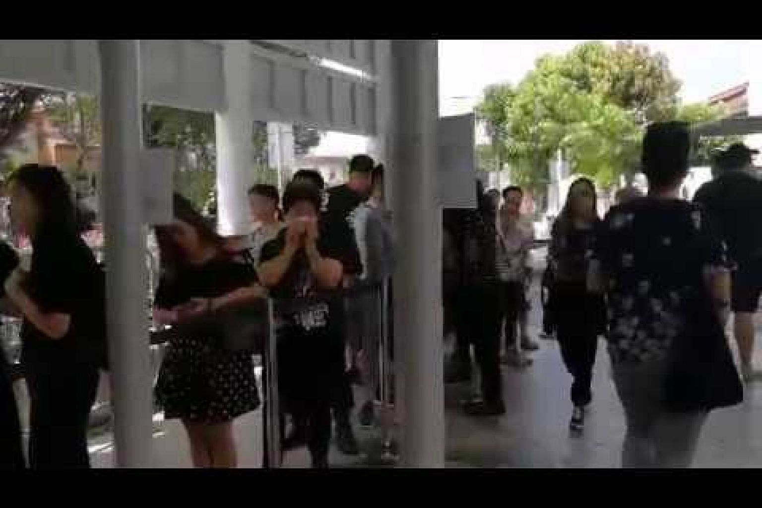 Aloysius Pang's public memorial: Fans queueing up to pay their respects