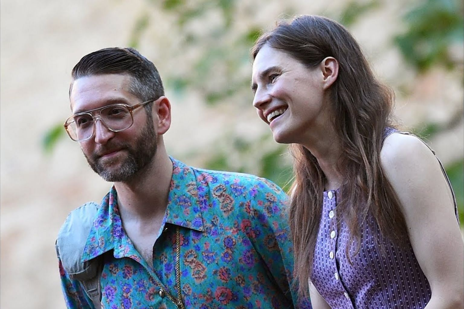 Amanda Knox returns to Italy for first time since roommate's murder