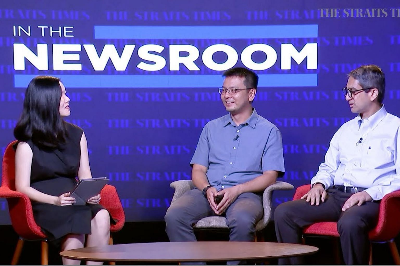 In The Newsroom: Leon Perera and Daniel Goh