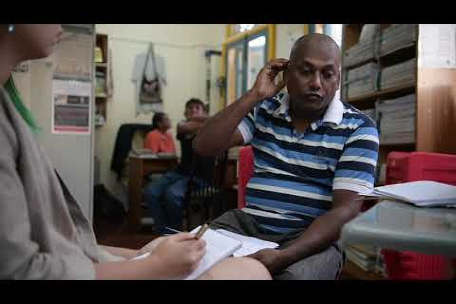 Hasan Mehedi, a Bangladeshi foreign worker, speaks to ST about the salary dispute
