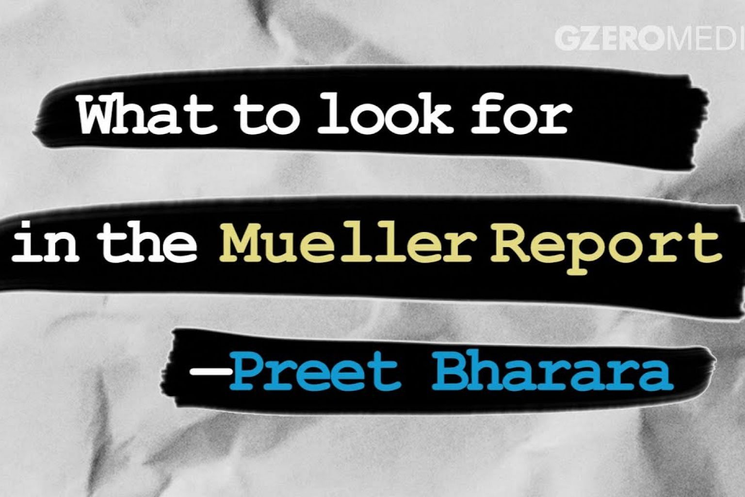 The Mueller Report: Preet's take