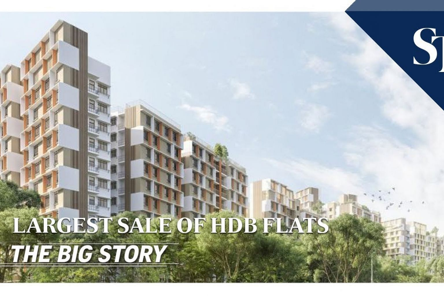 THE BIG STORY: Largest sale of HDB flats | The Straits Times
