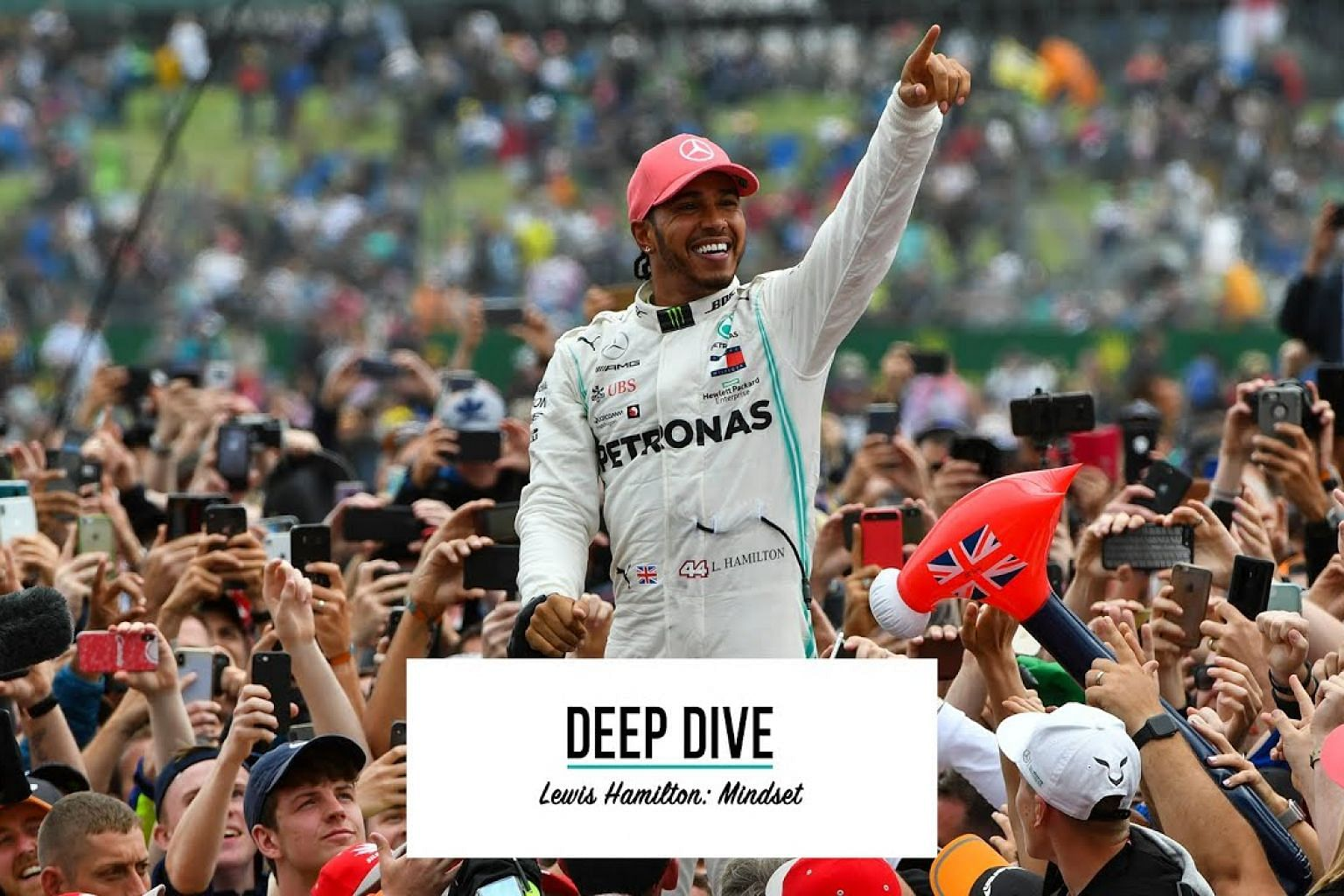 Self-Belief, Positive Mindsets, Growing Through Success and Failure | Lewis Hamilton