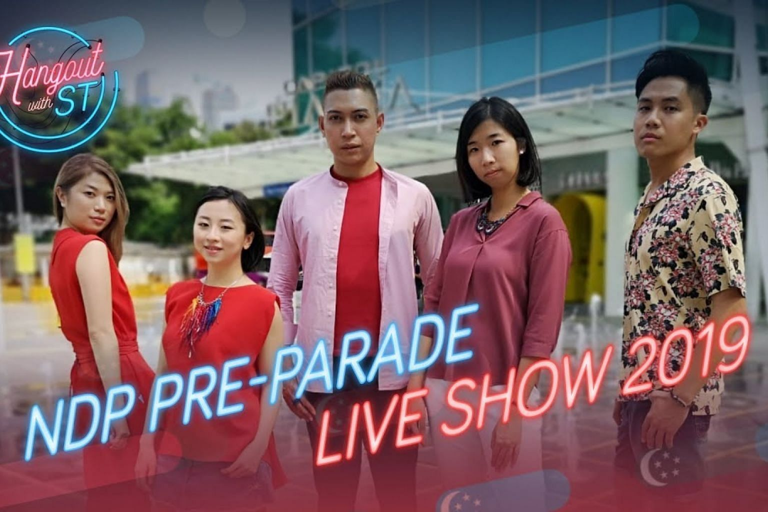 NDP 2019 PRE-PARADE LIVE SHOW | Hangout with ST