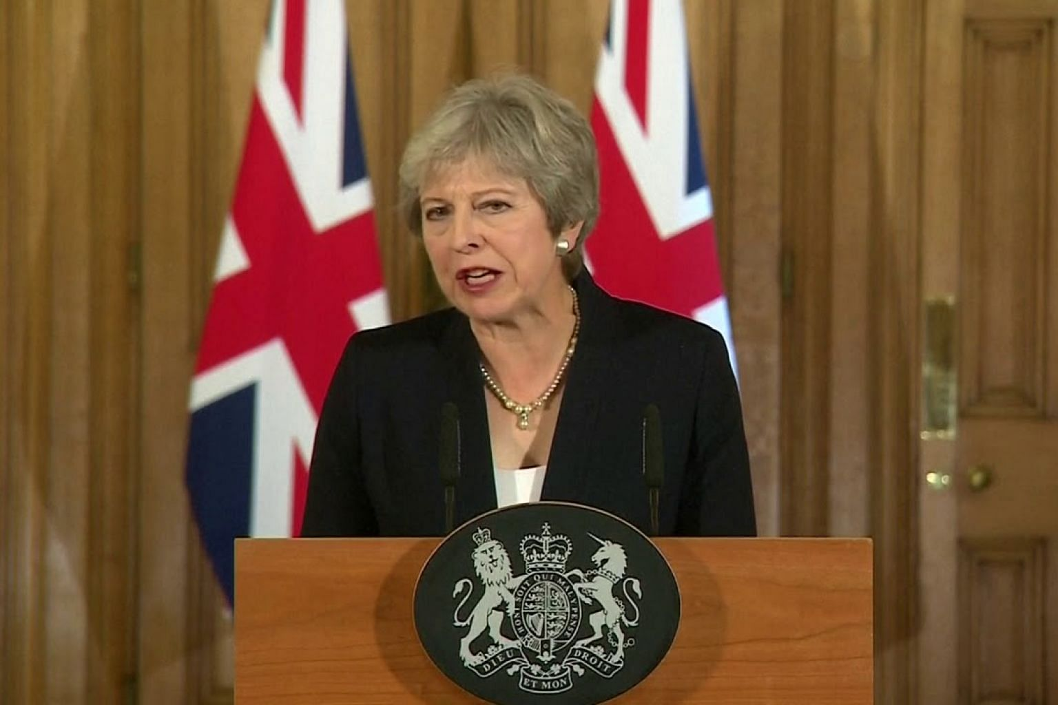 Theresa May says Brexit talks have hit an impasse