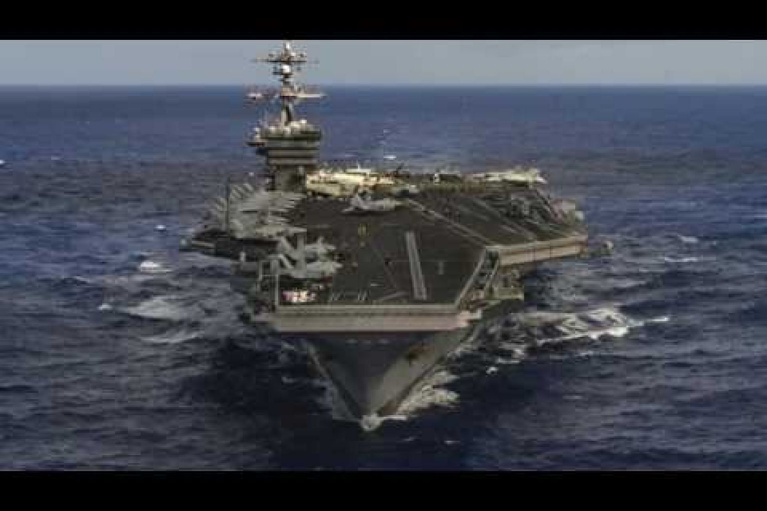 North Korea says ready to sink US aircraft carrier