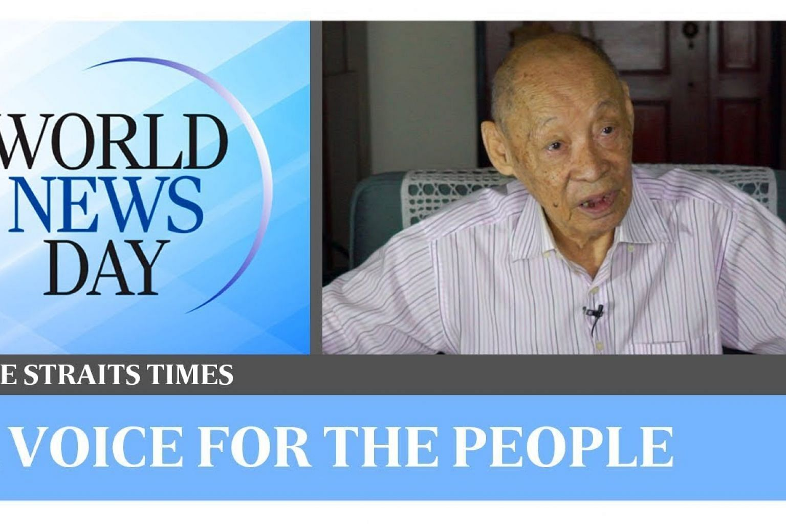 World News Day: A voice for the people - how journalism can help change policy  | The Straits Times
