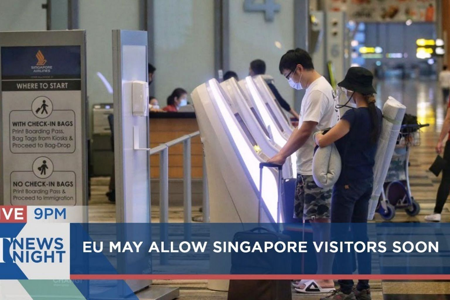 EU may allow Singapore visitors soon | NASA's mission success | ST NEWS NIGHT