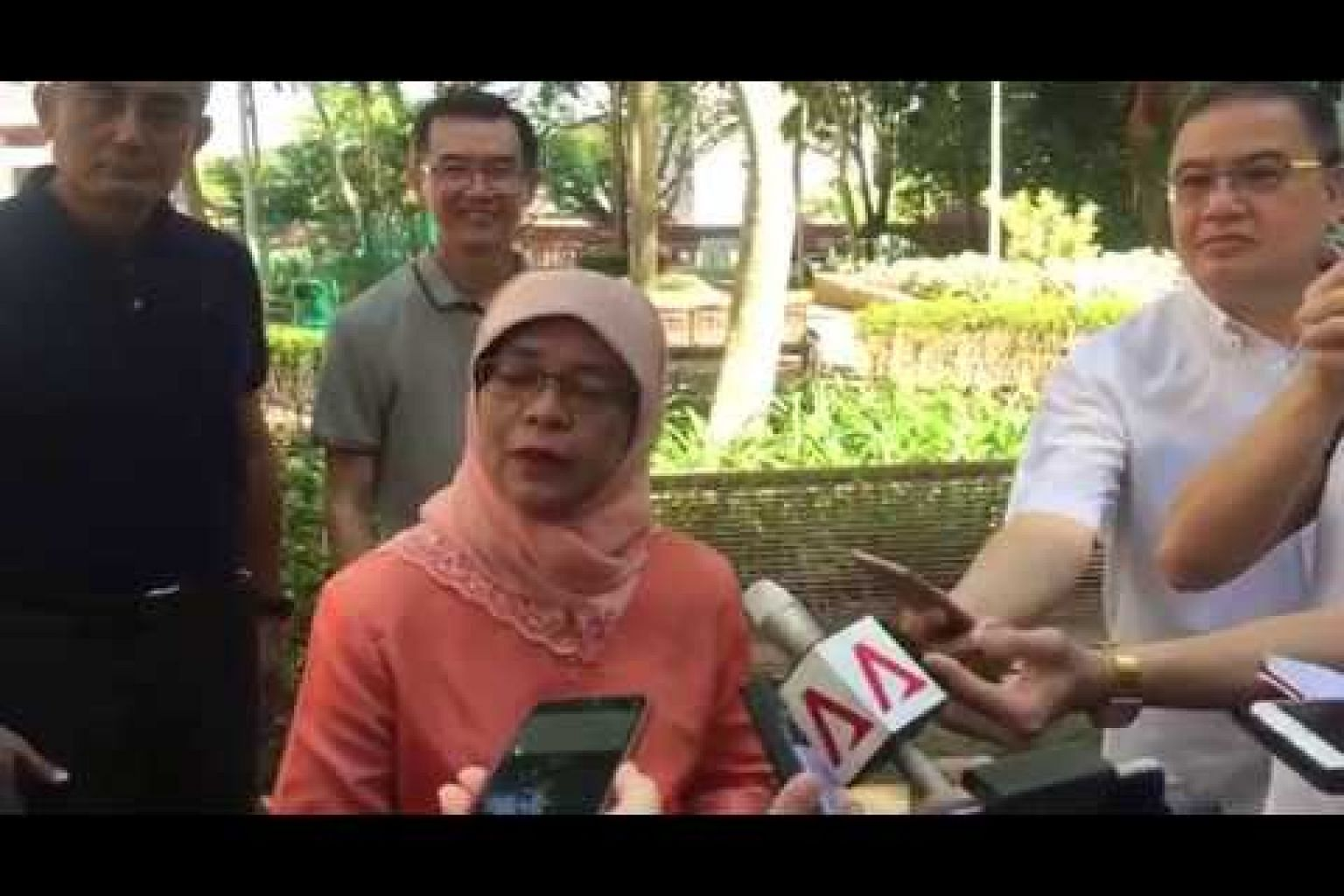 Dr Halimah Yacob speaks about running for President