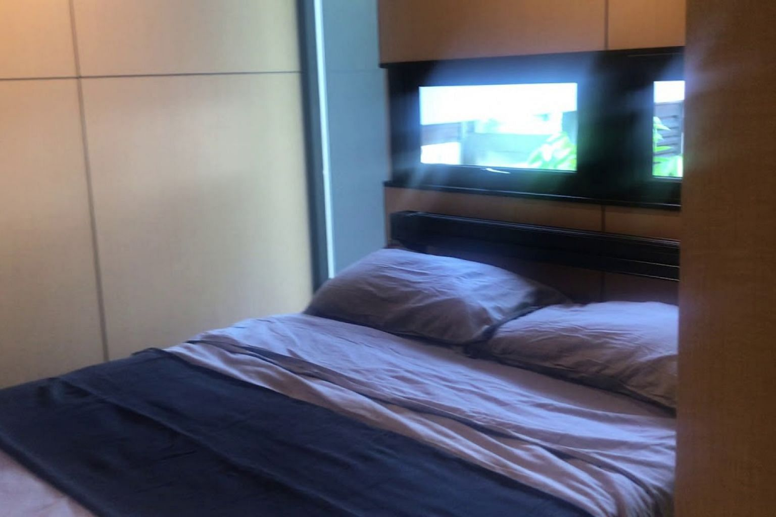 The interior of a fully furnished Movit home