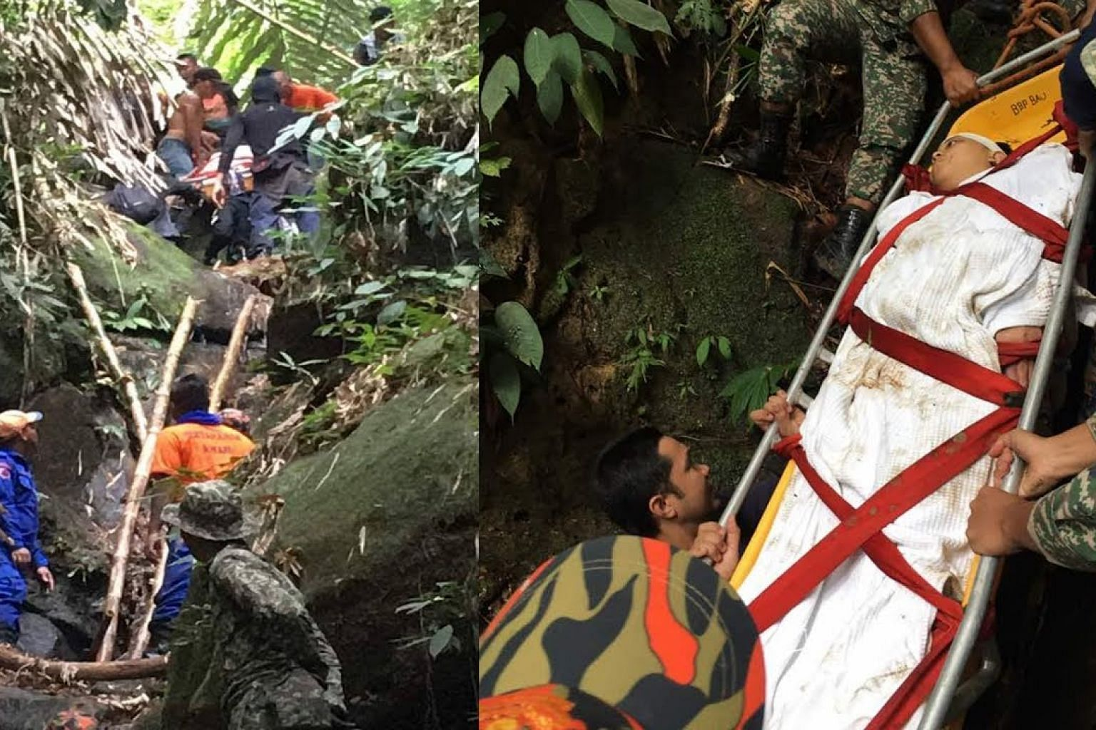 Hiker found alive but weak after missing for seven days in Sarawak's Mt Singai