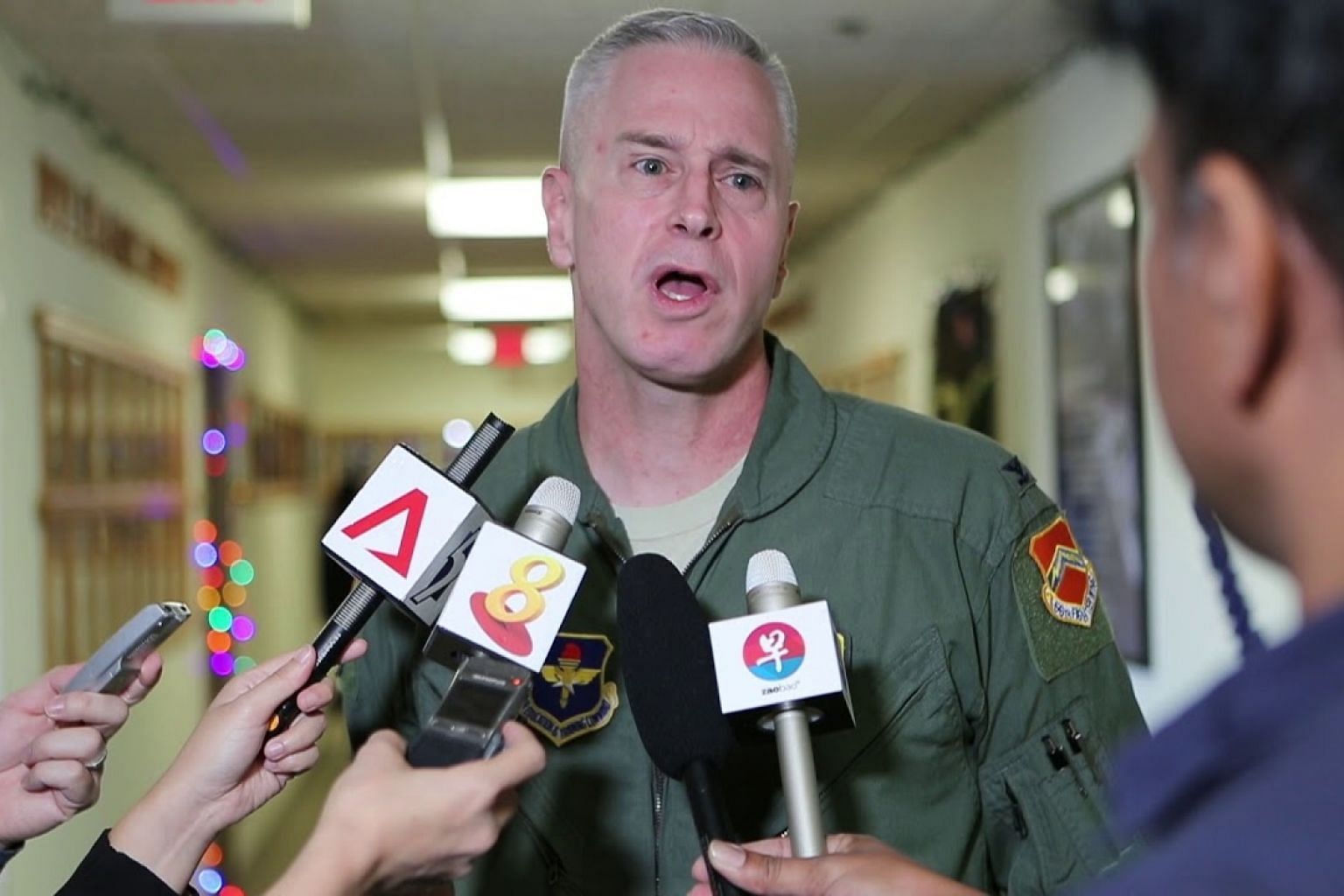 US 56th Fighter Wing vice-commander Colonel Michael Richardson on working with the RSAF