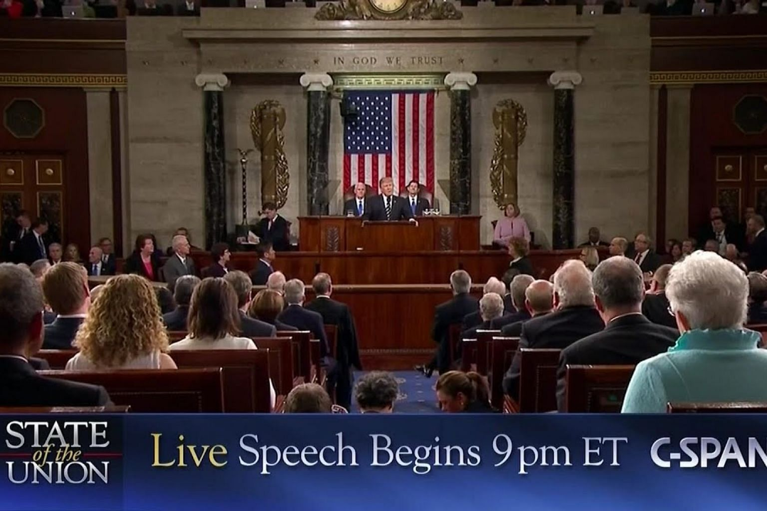 LIVE: President Trump Delivers State of the Union Address (C-SPAN)