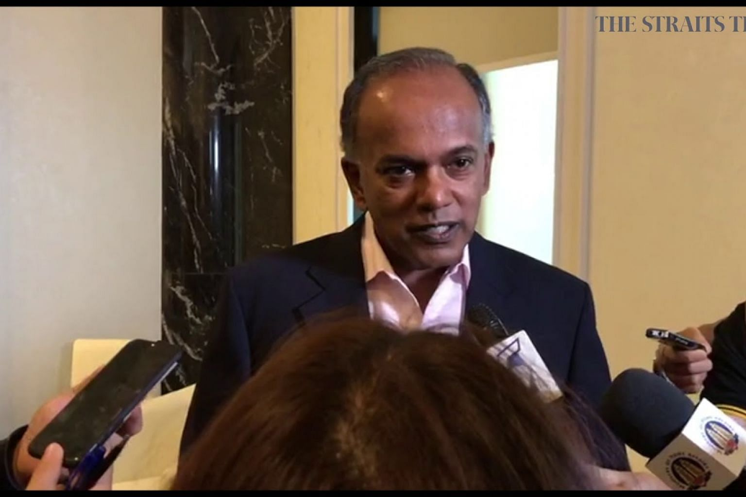 Home Affairs and Law Minister K. Shanmugam on calls to decriminalise attempted suicide