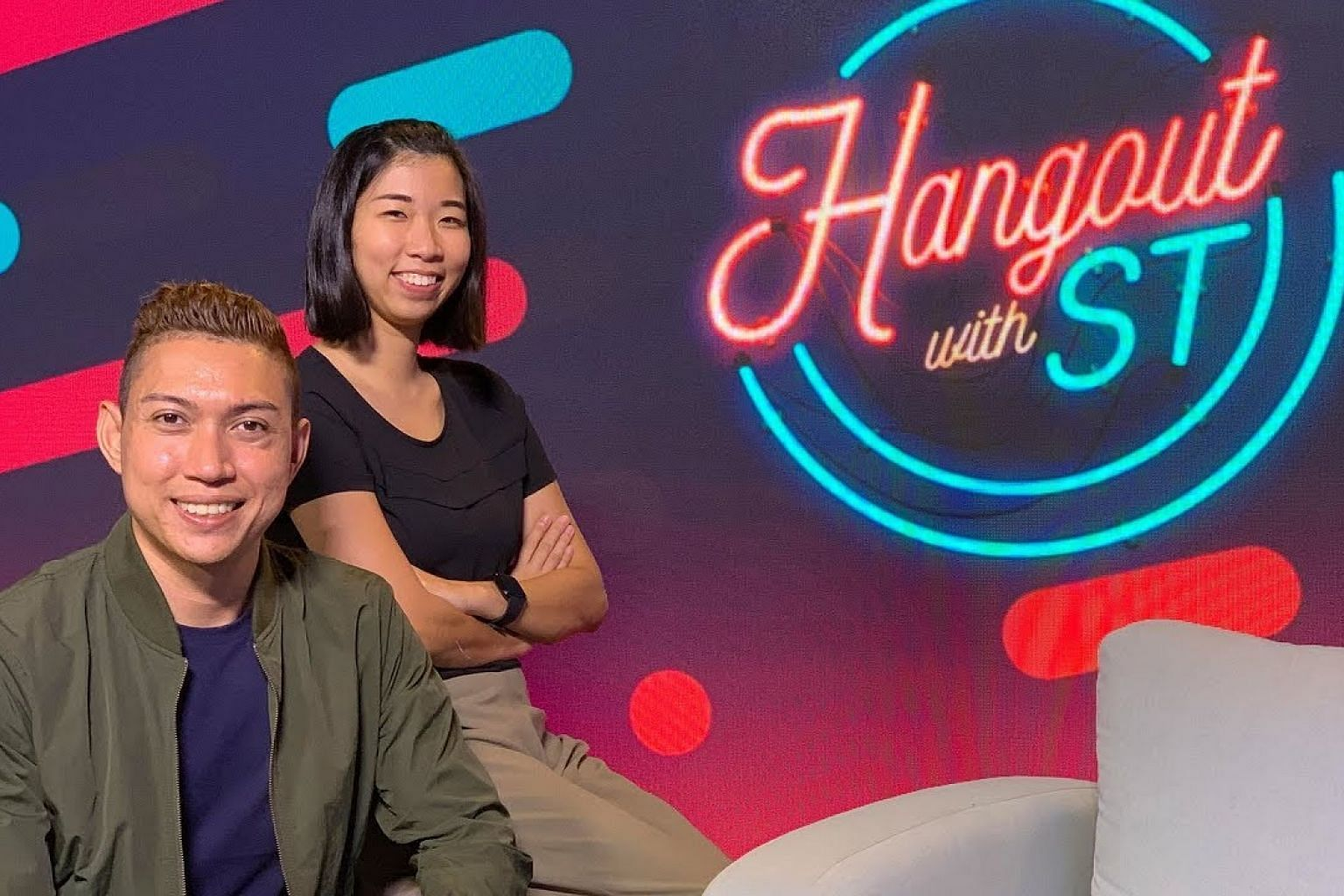 Hangout with ST: National Day baby with six older siblings | Hossan Leong's one-man show