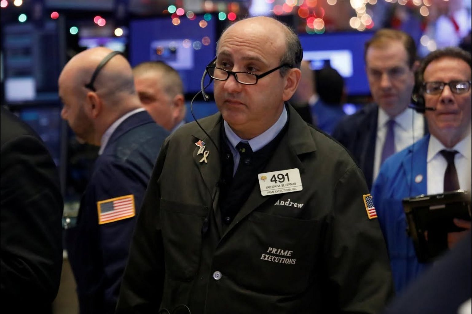 Wall Street drops more than 2 per cent