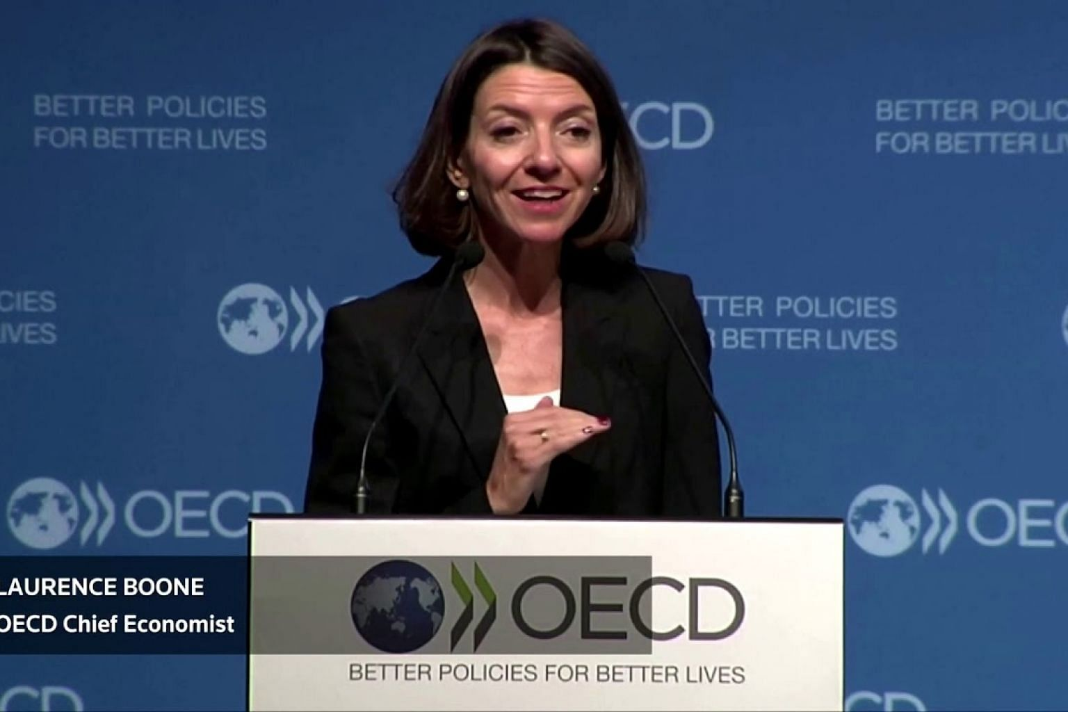 OECD cuts growth outlook to post-crisis low