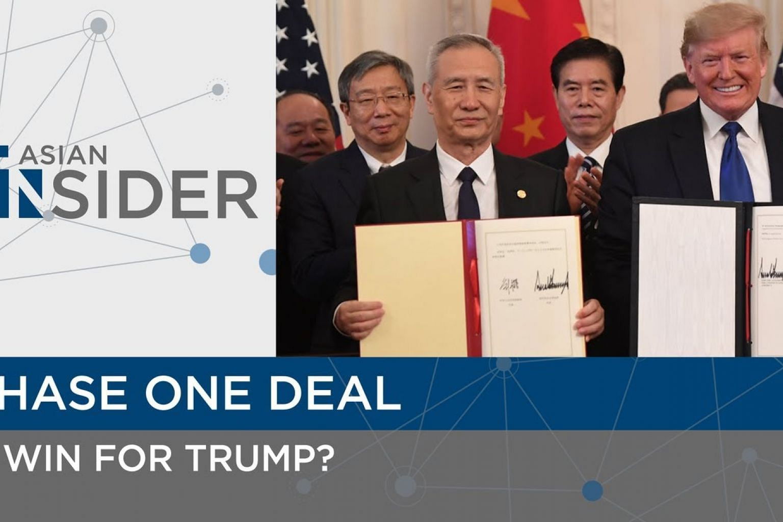 Phase one deal, a win for Donald Trump | Asian Insider | The Straits Times