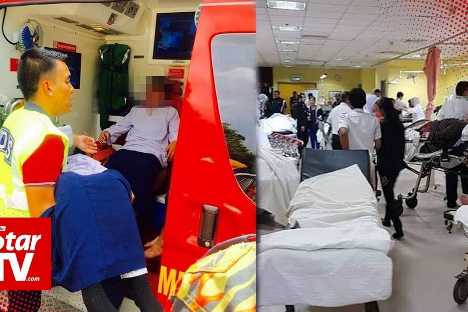 15 students in Pasir Gudang suffer breathing difficulties, five admitted to hospital