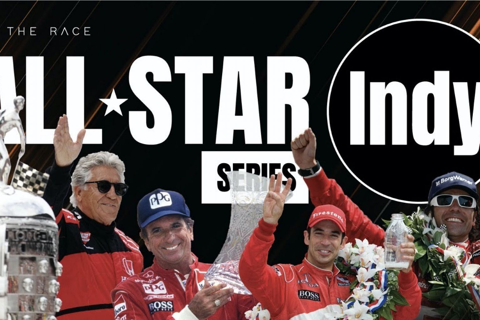 The Race All-Star Series - INDY! - ft. Fernando Alonso, JP Montoya, Button,  Andretti + LOADS more!