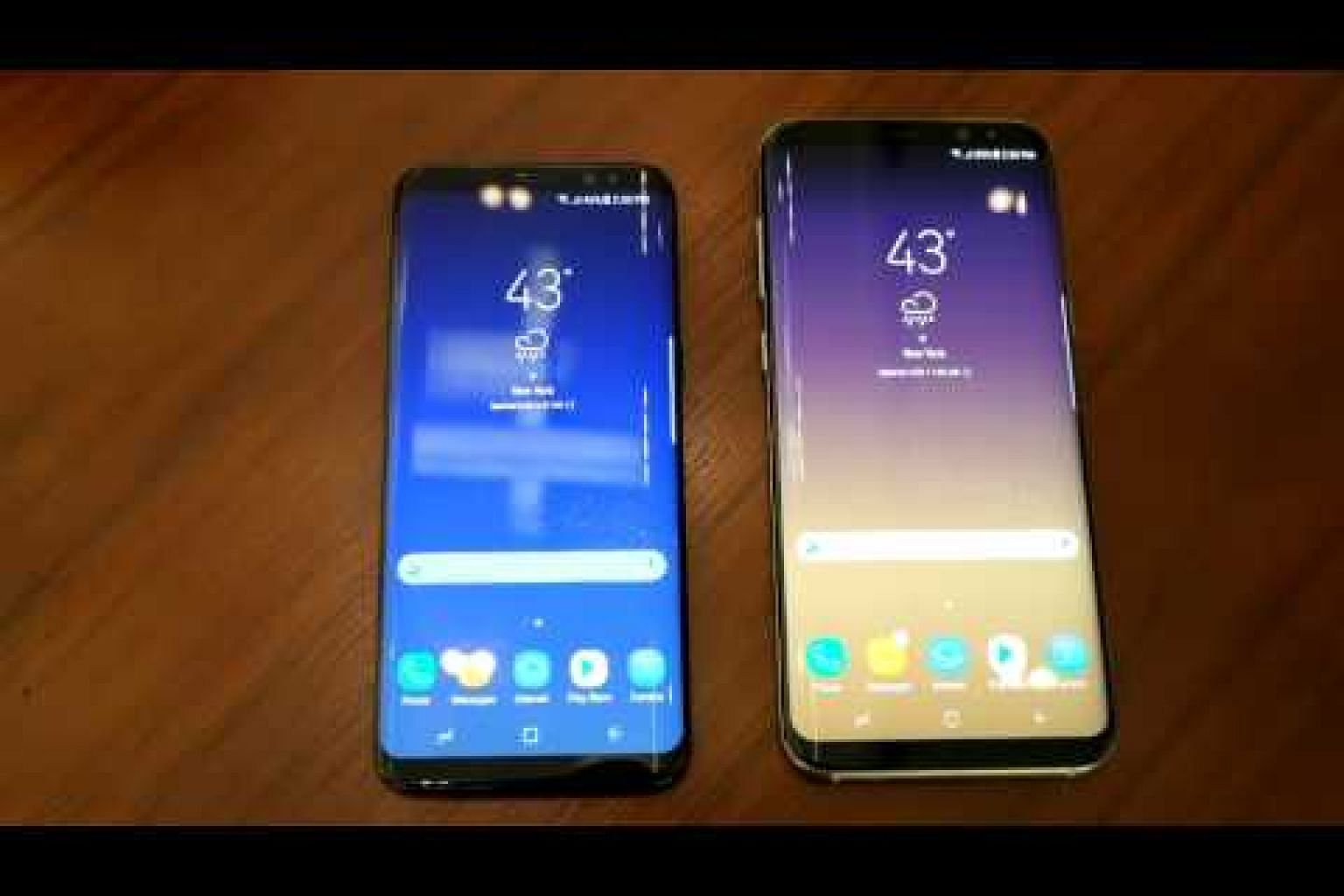 Close-up with the new Samsung Galaxy S8