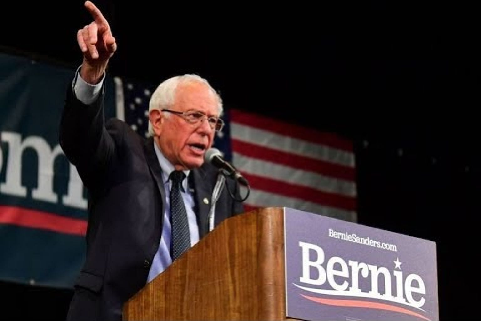 Sanders undergoes surgery, canceling campaign events
