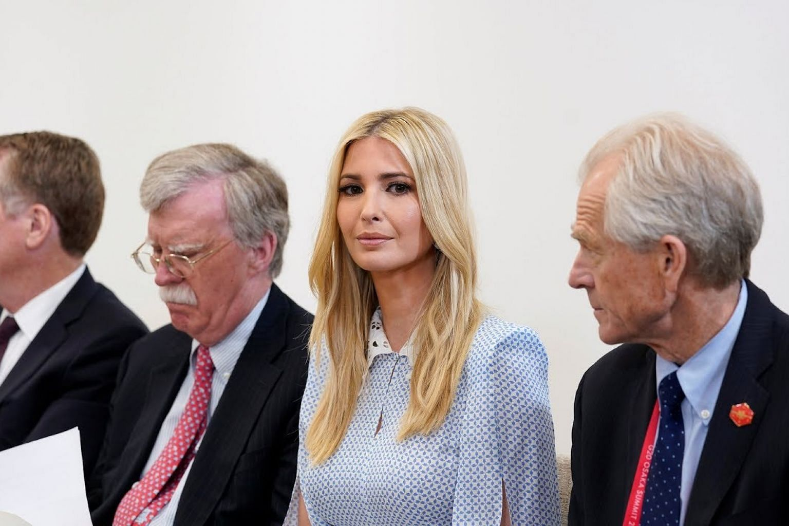 Trump says not grooming Ivanka for office