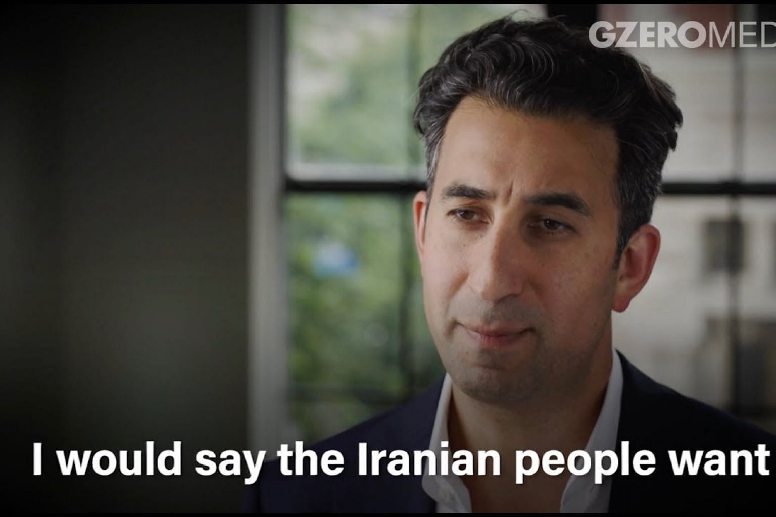 The Iranian people want to be South Korea, not North Korea