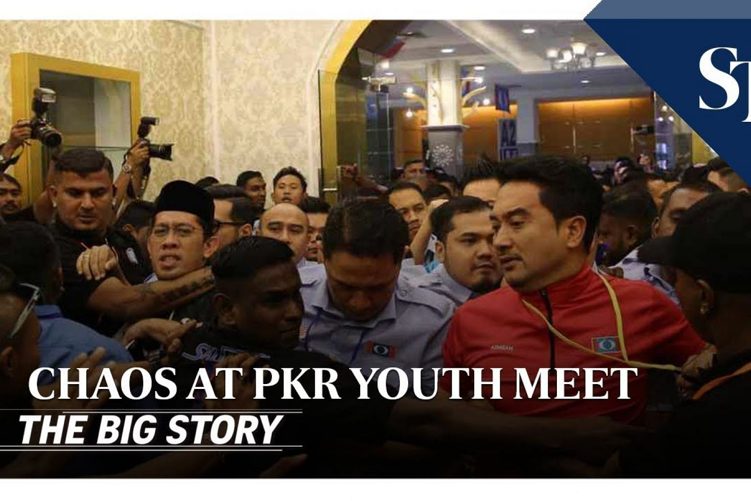Chaos at PKR youth meet despite truce | THE BIG STORY | The Straits Times