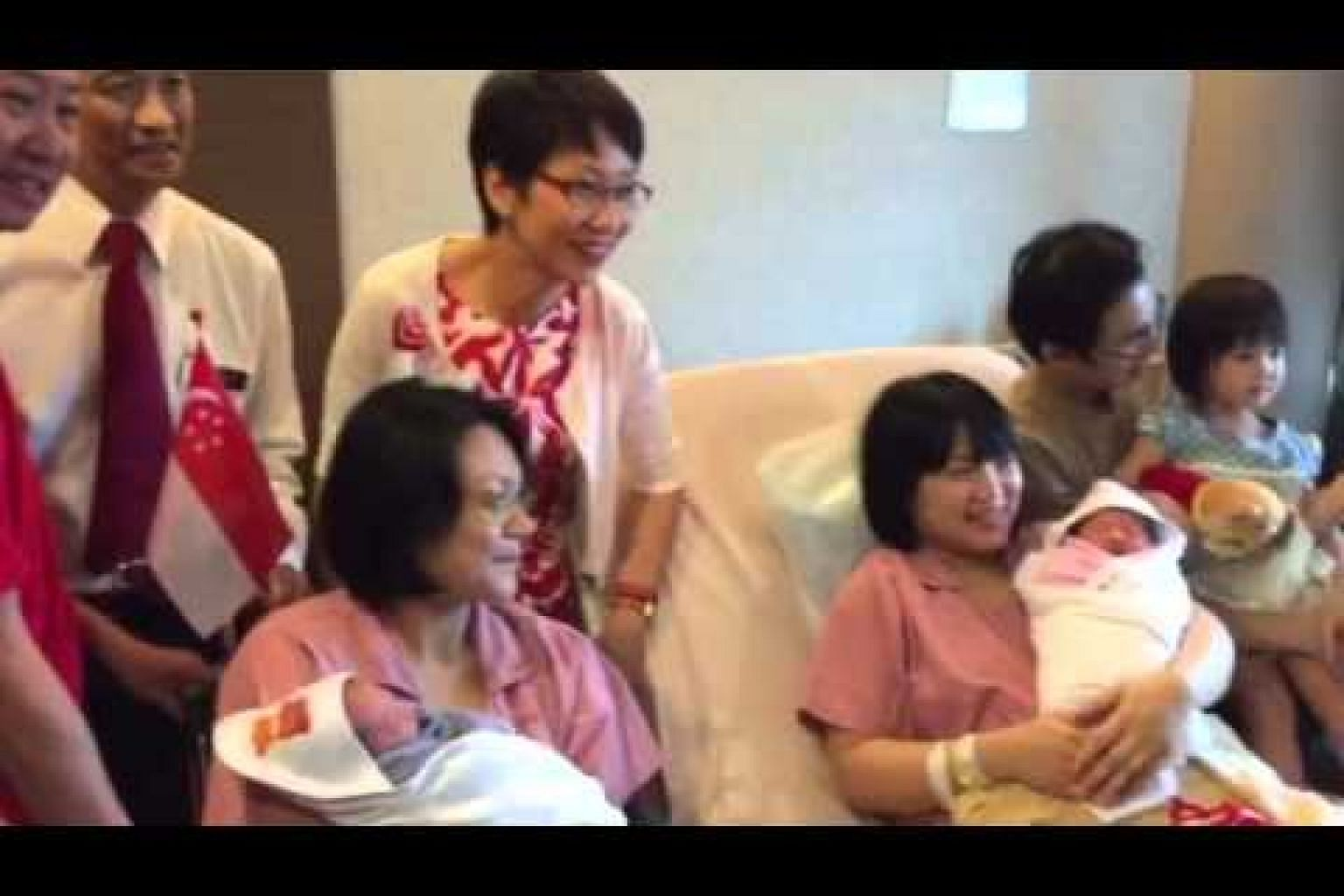Jubilee welcome for babies born on National Day