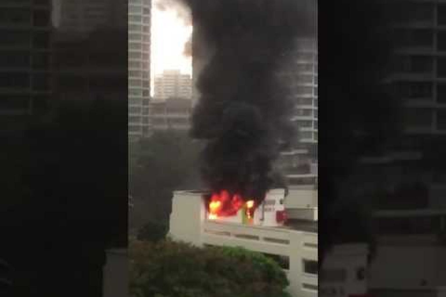 Fire at Bishan St 24