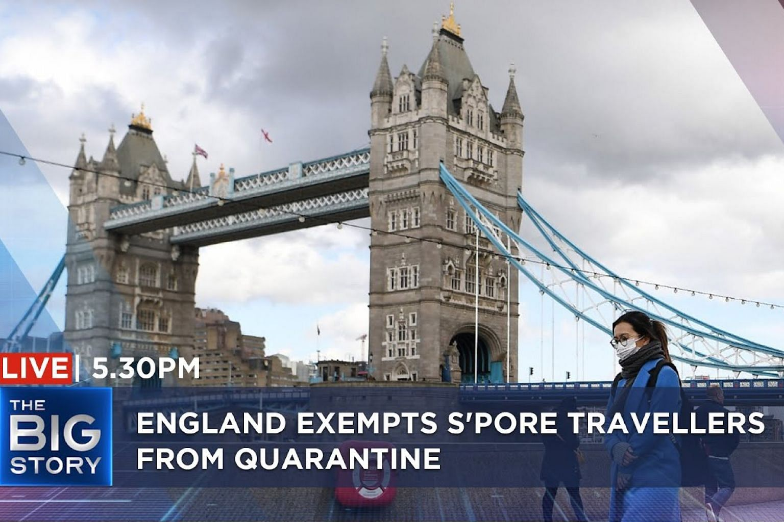 England exempts S'pore travellers from quarantine – what you need to know | THE BIG STORY