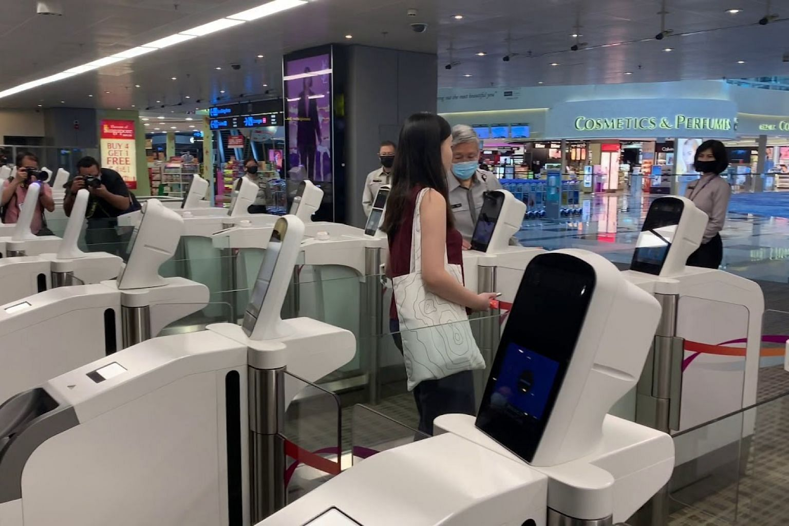 Changi Airport making travel touch-free