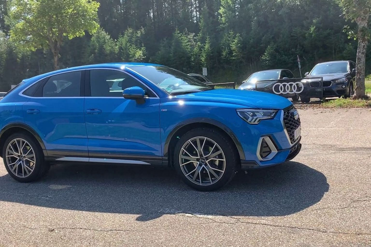 A 360 view of the Audi Q3 Sportback