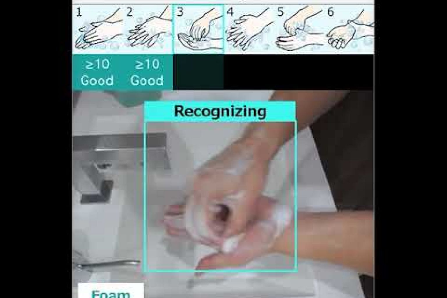 Fujitsu Develops AI-Video Recognition Technology to Promote Hand Washing Etiquette in the Workplace