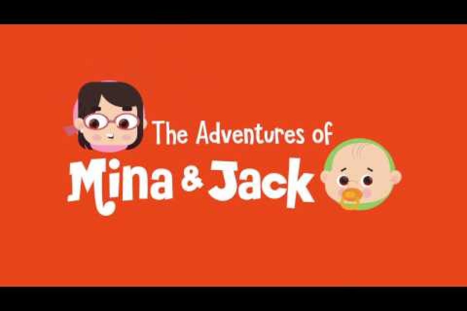 The Adventures of Mina and Jack - Prologue : The Animated Series | BBC Viral Interview Inspired