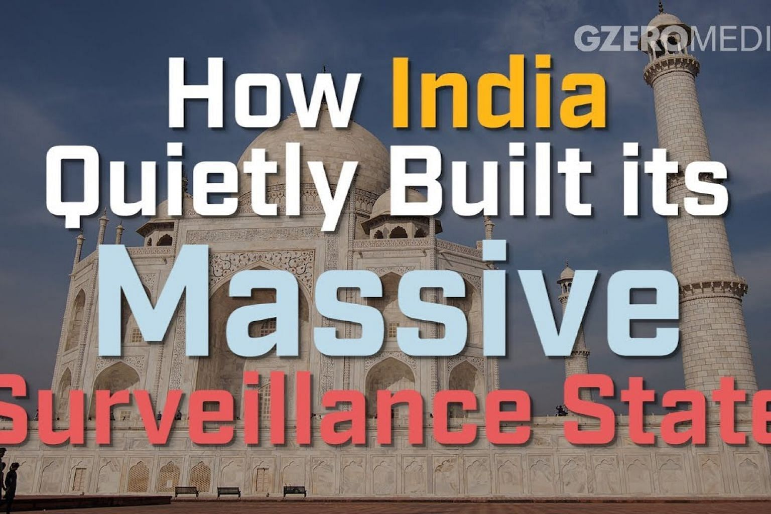 India's surveillance state; scanning 2 billion eyes
