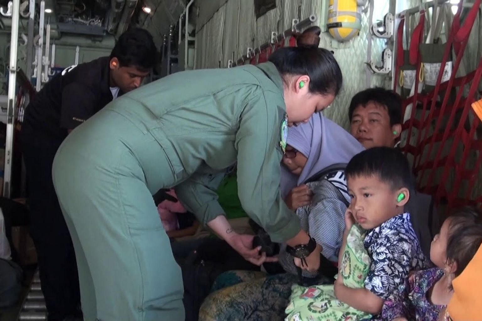 SAF humanitarian mission in Indonesia