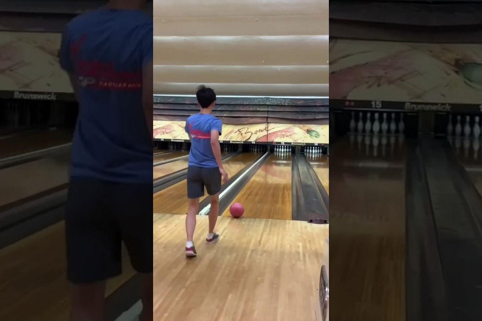 Ng Ming Wei: Taekwondo bowling
