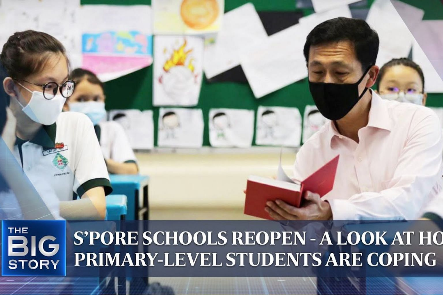 S'pore schools reopen - a look at how primary-level students are coping | THE BIG STORY