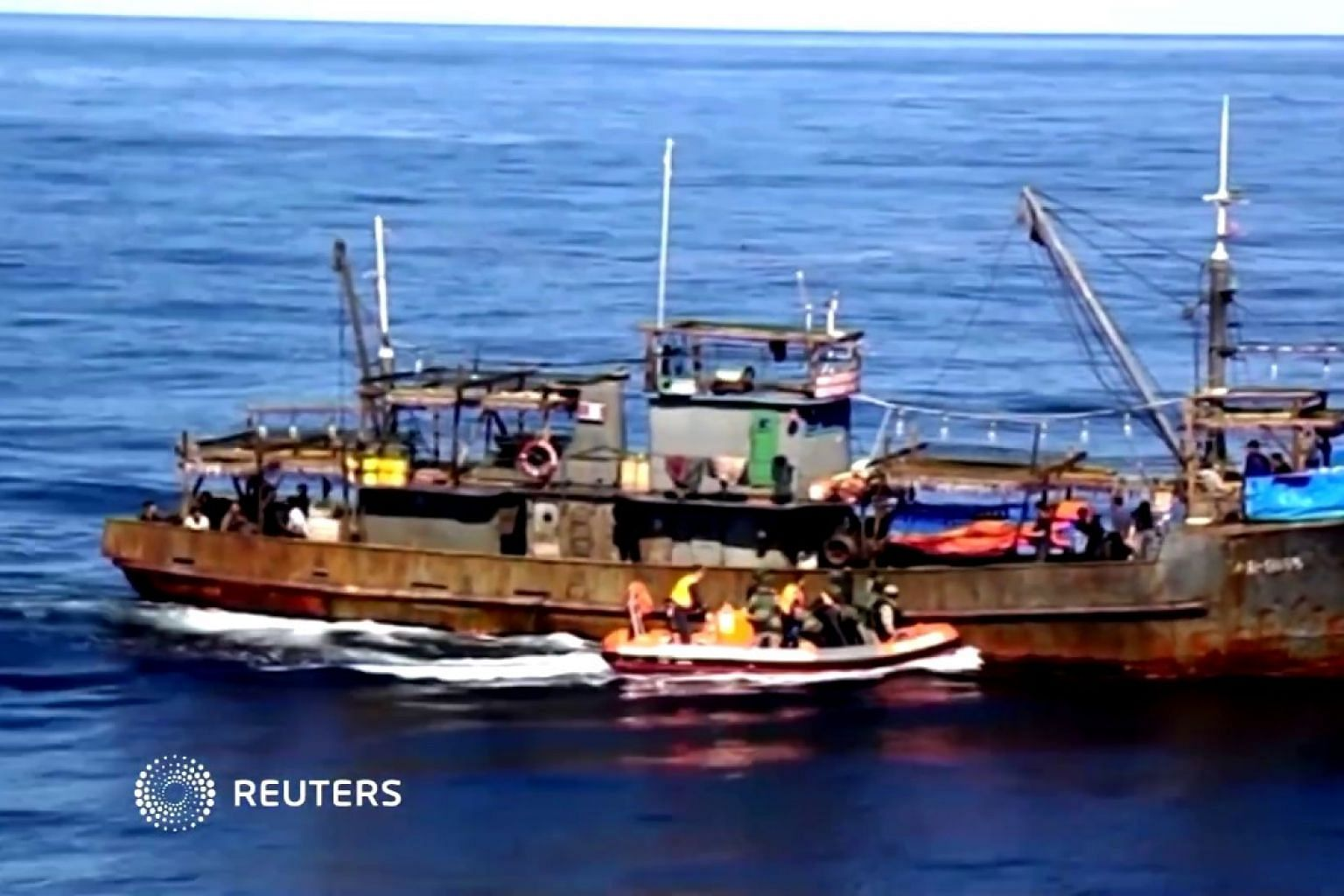 Russia detains 262 North Korean fishermen for poaching