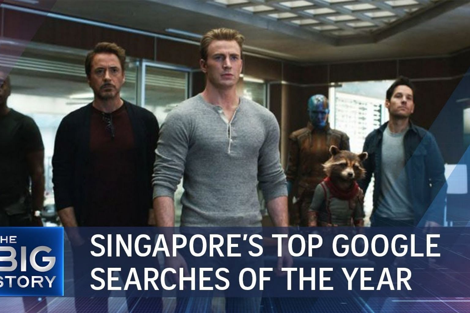 Singapore's top Google searches of the year | THE BIG STORY | The Straits Times