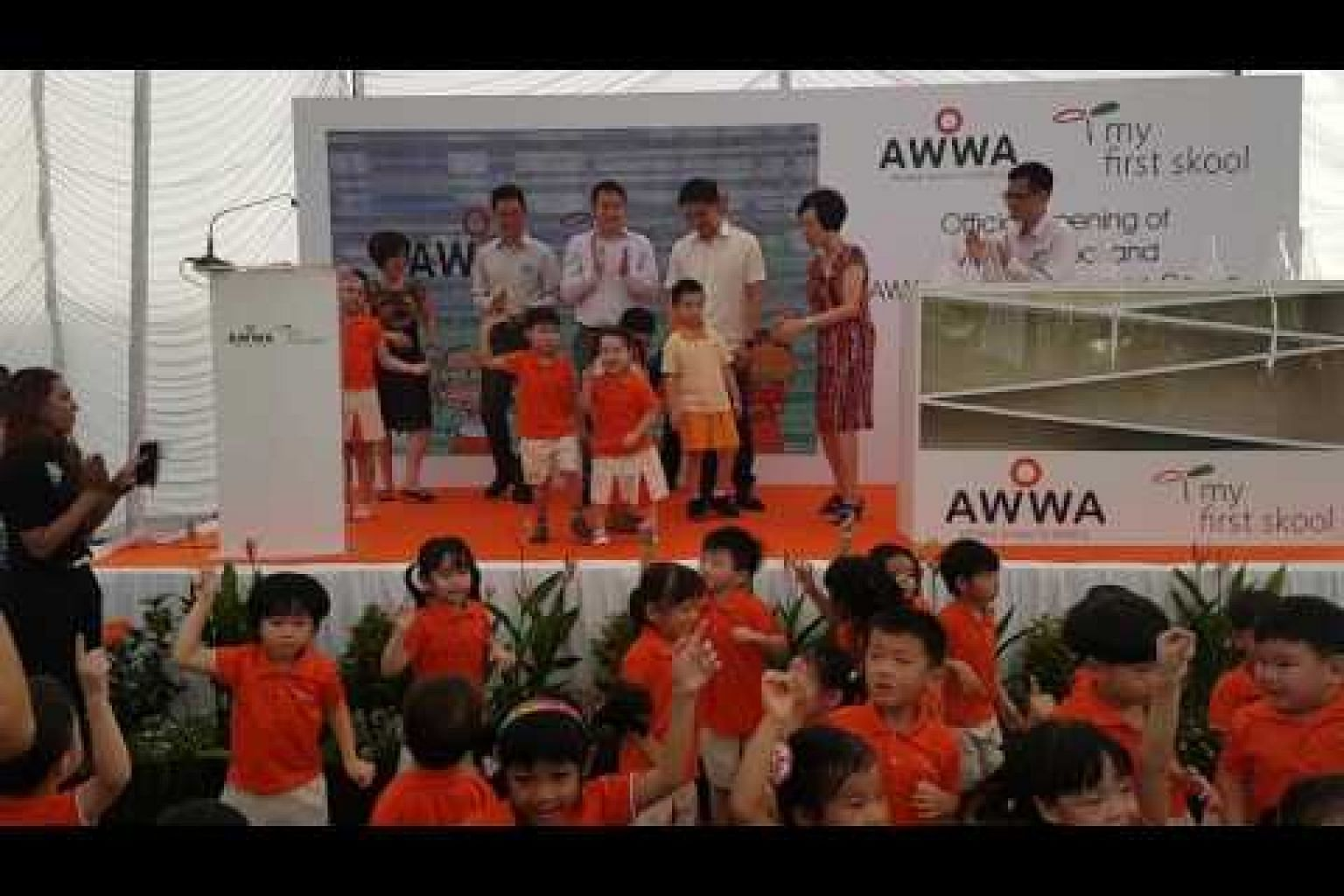 Official opening of My First Skool childcare centre and Awwa Early Intervention Centre